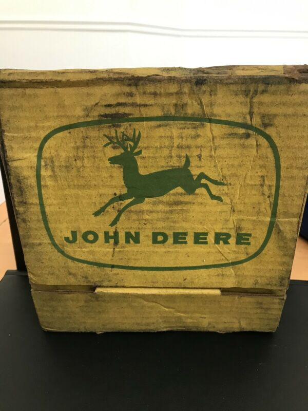 john deere advertising collectible Record In Old Box