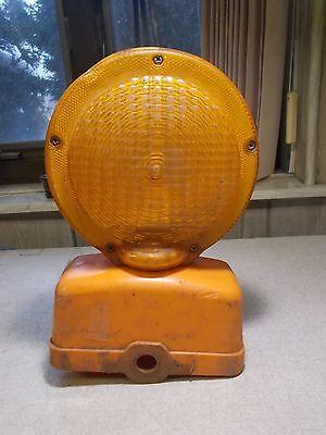 Work Safe Barricade Construction Barrier Safety Signal Light Free Shipping