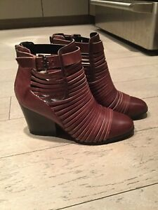 Women's brand leather boots size 6.5,  7