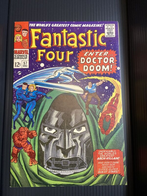 Fantastic Four #57 GLOSSY - Doctor Doom and Silver Surfer
