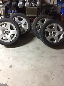OEM AUDI A4 RIMS & WINTER TIRE