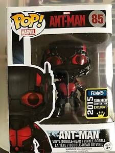 Funko POP! Vinyl 85 Marvel Ant Man 2015 Exclusive Capital Hill South Canberra Preview