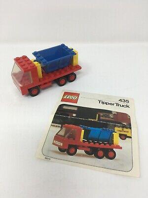 Lego 435 Tipper Truck Legoland vintage 1970s 435-1