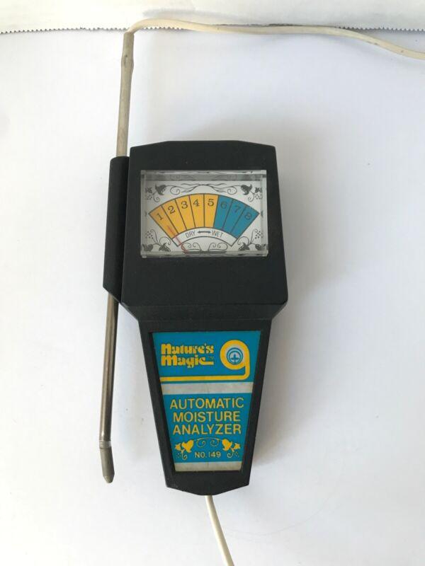 Natures Magic Automatic Moisture Analyzer No. 149 Quality Control Lab Equipment
