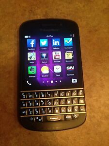 Blackberry Q10/ Rogers