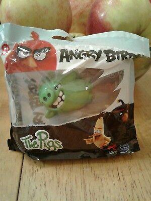 2016 Rovio Angry Birds Spinmaster lying down Pig Figure Brand New