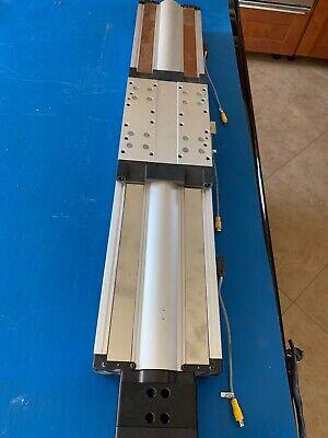 Parker Daedal 406500xrmsd2h7 Linear Slide Wbe230gj-nfln Motor Dust Shield Miss