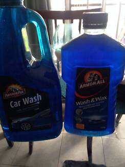 Armor All Car wash 2 litre & Wash & Wax 1 litre Riverwood Canterbury Area Preview