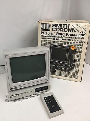 Vintage Smith Corona Model Pwp 14 Word Processor Computer In Original Box