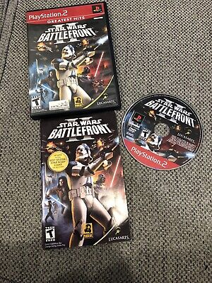 Star Wars Battlefront II GH (Sony Playstation 2 ps2) Complete