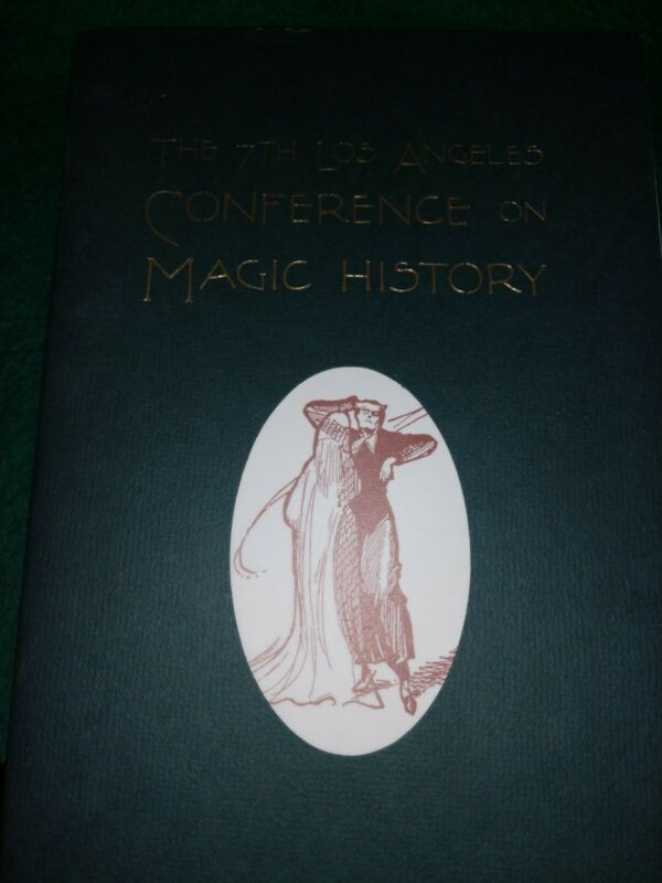 The 7th Los Angeles Conference on Magic History Program Illustrated Gold Leaf