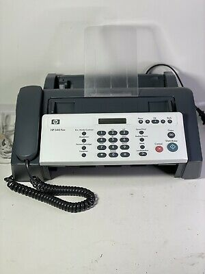 Hp 640 Fax Plain Paper Inkjet Quality Fax Copy Phone Machine Needs Ink Hp 701