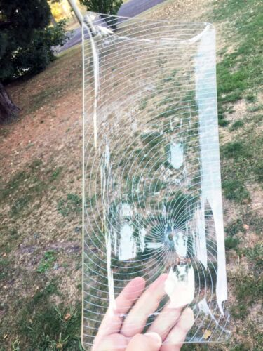 Glass Long Serving Tray Plate