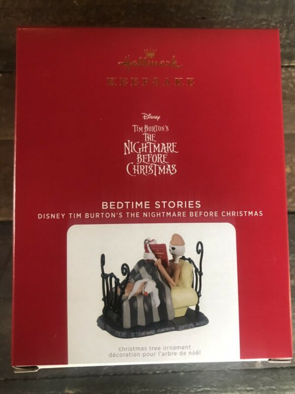 NIB, 2021 Ornament The Nightmare Before Christmas Bedtime Stories