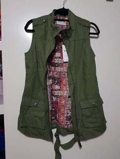 RM Williams Vest Green Size 8