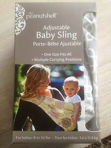 PEANUT SHELL ADJUSTABLE BABY SLING Wavell Heights Brisbane North East Preview