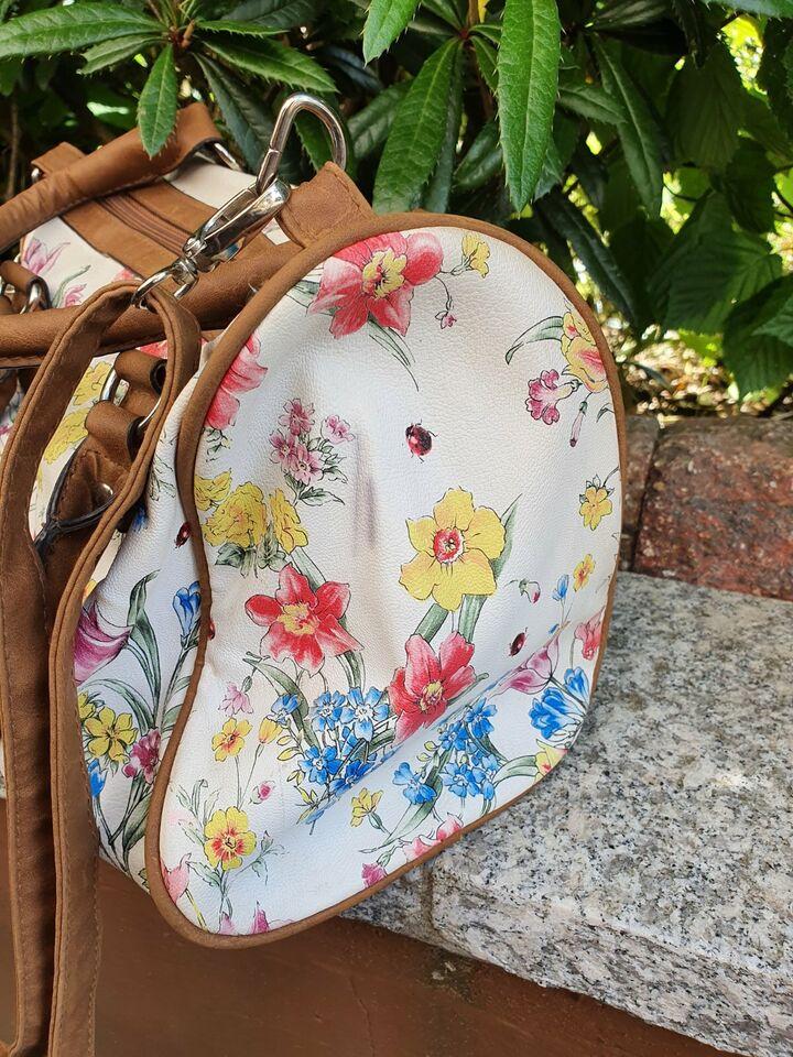 Schicke Damen Handtasche, florales Muster, Blumenprint, Tasche in Saarland - Beckingen