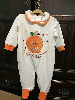 9 Month My First Halloween Footed - My First Halloween