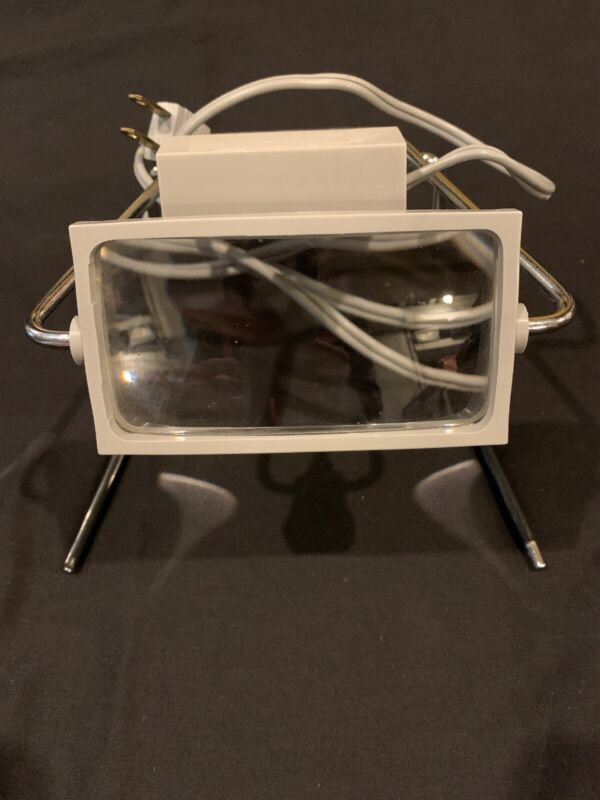 BAUSCH & LOMB ELECTRIC LIGHTED FREESTANDING MAGNIFIER