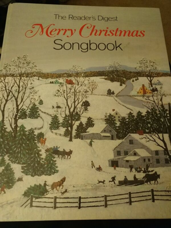 Vintage Merry Christmas Readers Digest Songbook Spiral Bound Sheet Music 1981