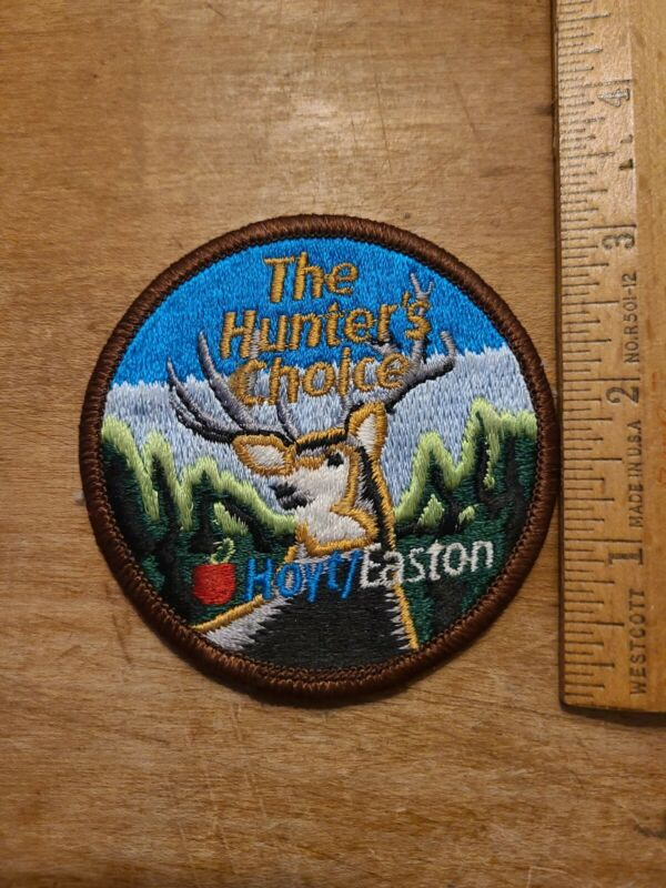 VINTAGE THE HUNTERS CHOICE HOYT / EASTON PATCH