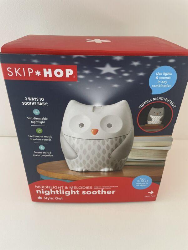 Skip Hop Owl Nightlight Soother w/ Moonlight & Melodies NIB