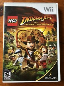 Wii Indiana Jones LEGO Game