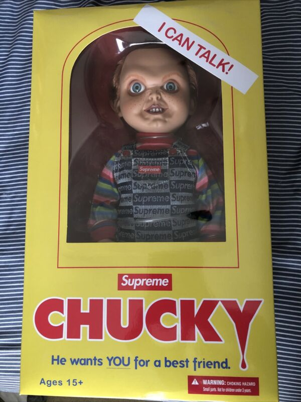 Supreme Chucky Doll New Sealed