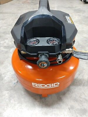 RIDGID 6 Gallon 150 PSI Pancake Air Compressor Model# OF60150HB