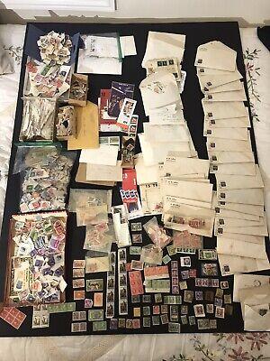 Vtg World Wide Postage Stamp Lot 1800's1900's