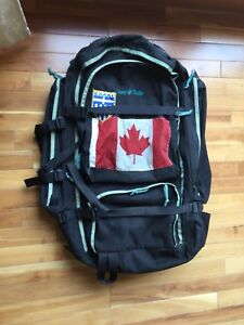 Travel backpack trip pack used sparingly good CAMP TRAILS