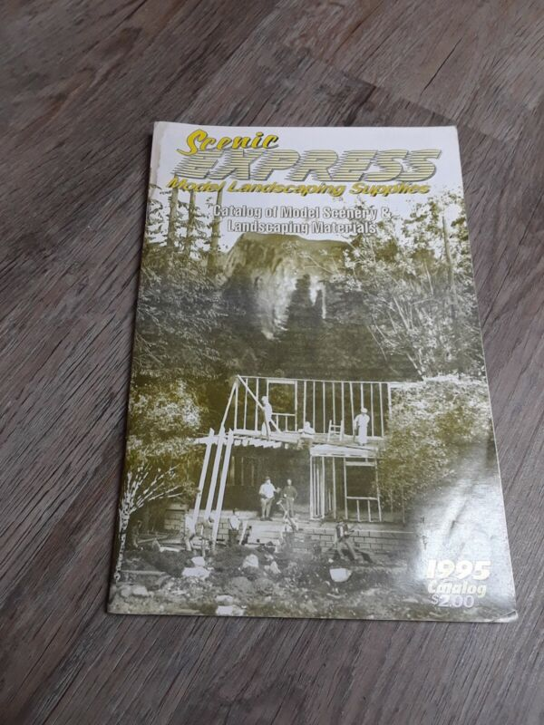 Scenic Express Model Landscaping Supplies 1995 catalog