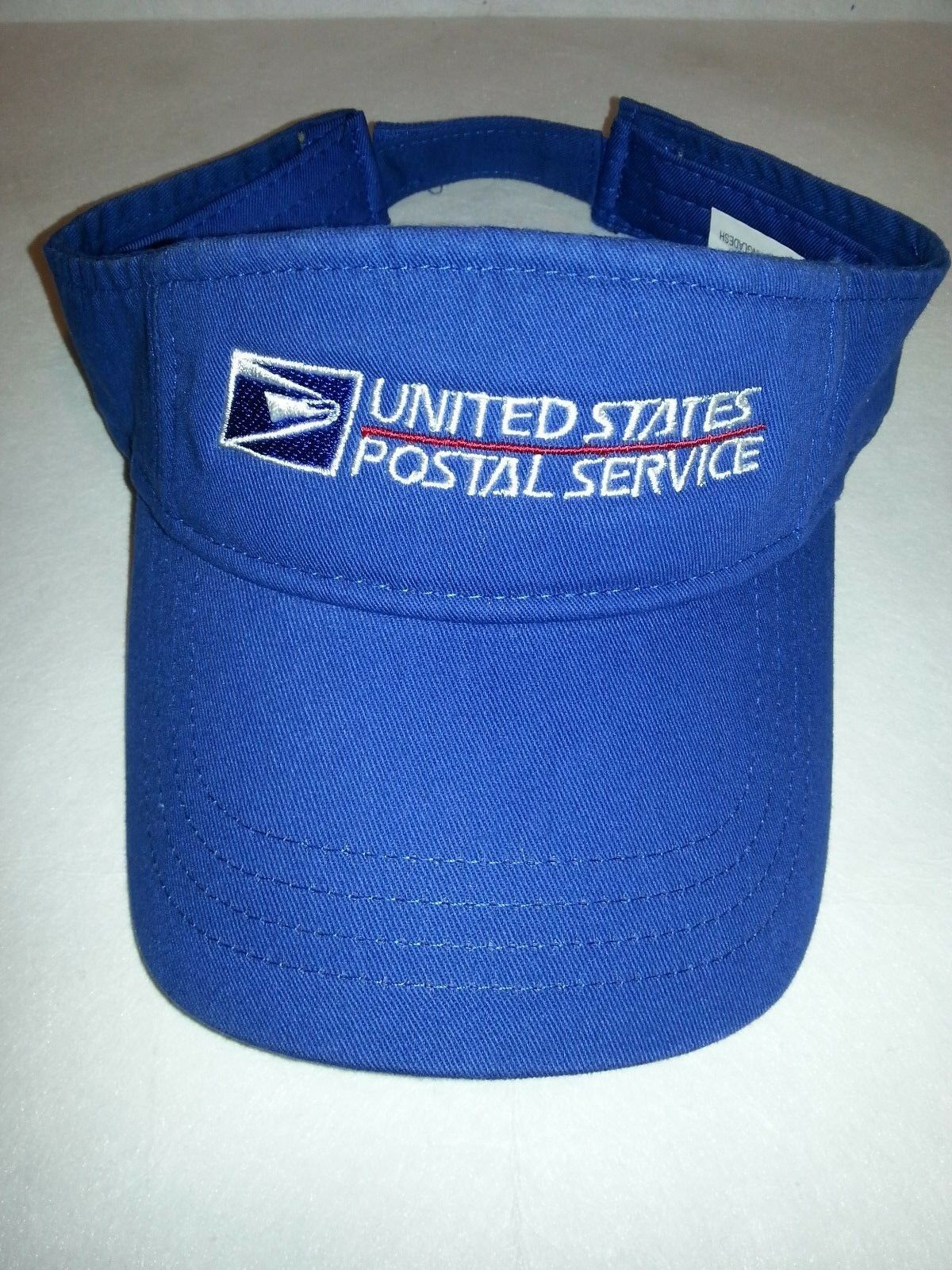 USPS Embroidered SUN VISOR / Royal Blue / USPS Logo VISOR