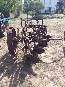 Large plough Russell Island Redland Area Preview