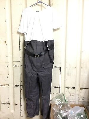 Old Man Uncle Bert Adult Costume Missing Wig includes Fake Belly - Uncle Bert Costume
