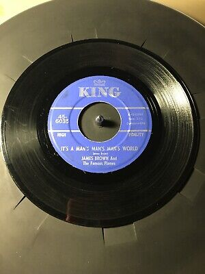 James Brown & The Fab Flames Is It Yes Or Is It No? Its A Mans Mans World 45 (James Brown Its A Mans Mans World)