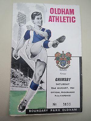 Oldham V Grimsby   1964/5  2