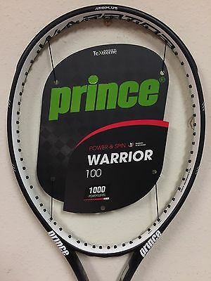 Prince Warrior 100 Tennis Racquet Grip Size 4 3/8
