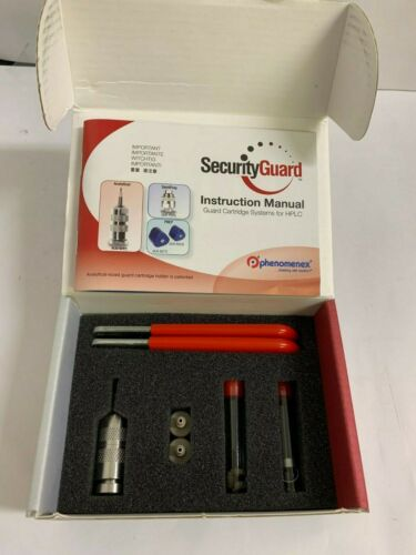 NEW Phenomenex Security Guard Cartridge Kit. Part No: KJO-4282