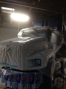 New paint shop -I do big truck too best prices around