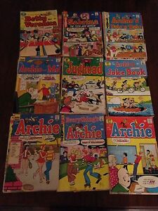 ARCHIE 38 comic lot early 70s BRONZE AGE