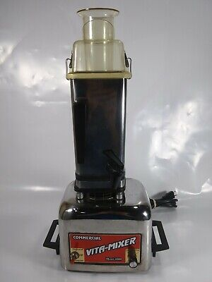 Vintage Vita-mixer Maxi-4000 Commercial Blender Mixer In Stainless Steel