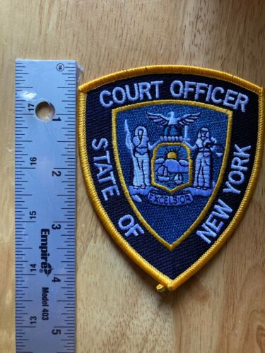 New! New York State Court Officer Patch $5.99