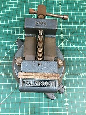 Palmgren 325 Machinist Drill Press Vise With Swivel Base