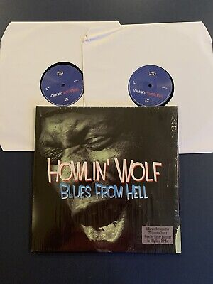 HOWLIN WOLF Blues From Hell 2x 180gm in Shrink LP Vinyl EX