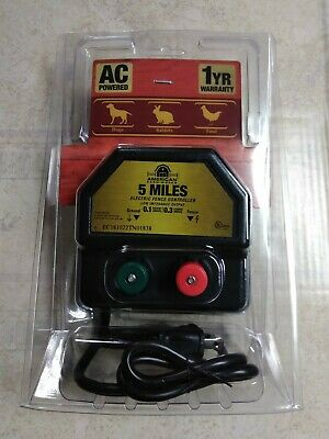 American Farmworks Ea5mai-r1 5-mile Ac Low Impedance Electric Fence Controller