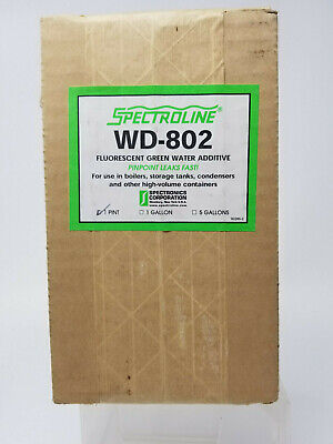 Industrial Water Systems Spectroline Water-glo-802-p Uv Dye 1 Pint