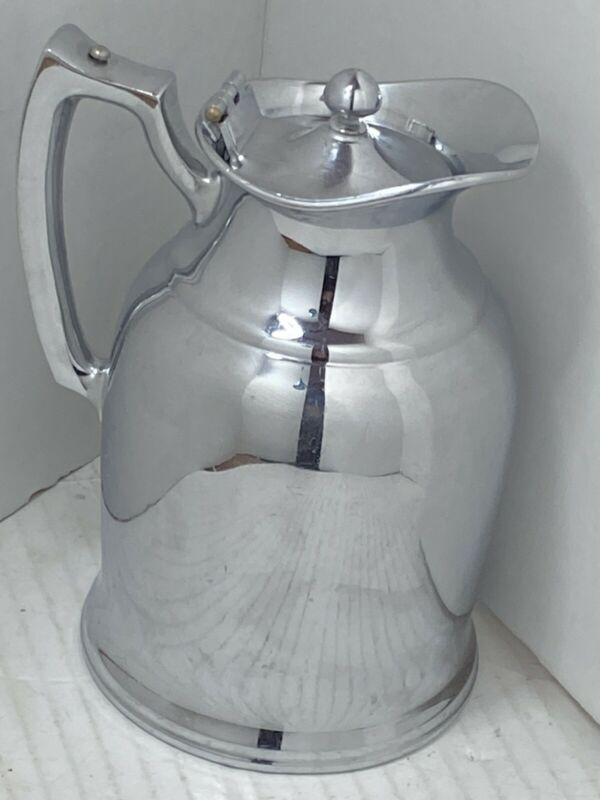 The Powers Hotel Rochester NY Double Wall Stainless Steel Pitcher Stanley USA