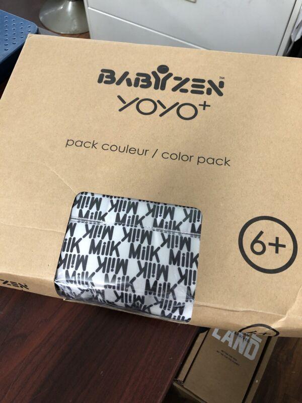 Babyzen Yoyo 6+ Stroller Black Color Pack Seat Canopy Newest Model