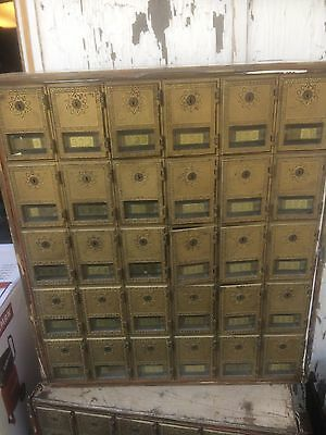 Vintage Usps Post Office Box Doors Mailbox